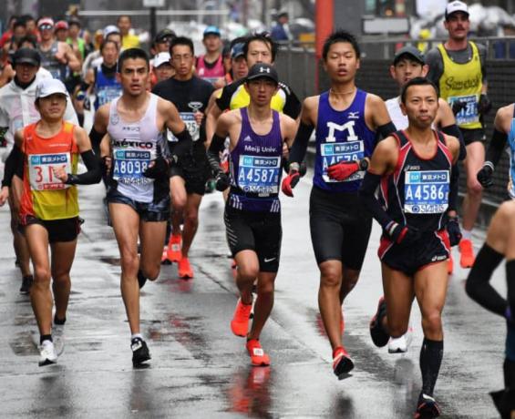 Токийский марафон 2019